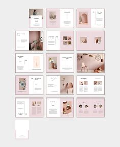 CHROMATIC Brand & Business Proposal ~ Magazine Templates ~ Creative Market