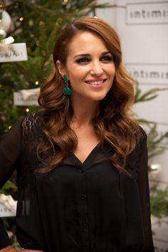 Paula Echevarria Attends Intimissimi Christmas