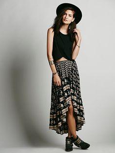 Free People Bohemian Royale Castaway Skirt, TL596.27