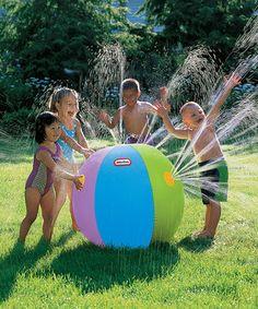 Look at this #zulilyfind! Ultimate Beach Ball Sprinkler by Little Tikes #zulilyfinds