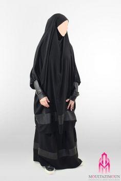 Islamic jilbab and hijab, website of reference in clothes for the muslim woman, high-range and cheap jilbab ! Overhead jilbab and saudi jilbab. Hijab 2016, Abaya Fashion, Fashion Dresses, Hijab Niqab, Girl Hijab, Head And Neck, Muslim Women, Alternative Fashion, Indian Outfits