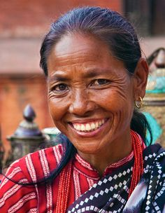 Face of Nepal==hard life, beautiful smile.