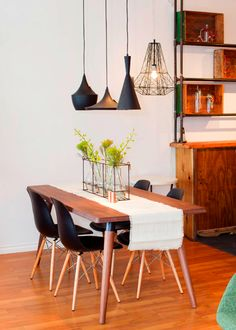 Dining set up for small spaces