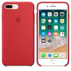 2a0768537 Funda de Silicona suave con logo para Apple iPhone 7 Plus   8 Plus · Iphone  7 Cases SiliconeIphone ...