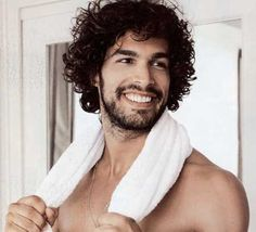 Mens messy curly hairstyles