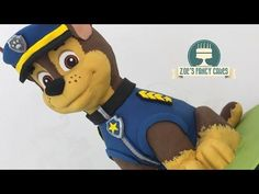 Large Paw Patrol cake of Chase tutorial! In this video I attempt to create a large cake of chase from Paw Patrol. This was one of my first attempts at making a cake so some of this was playing around with 3d Birthday Cake, Paw Patrol Birthday Cake, Birthday Nails, Cake Disney, Paw Patrol Birthday Decorations, Paw Patrol Cake Toppers, Paw Patrol Chase Cake, Cupcake Toppers, Zoes Fancy Cakes