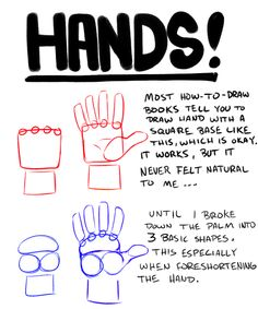 hands tutorial | Tumblr