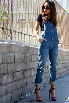 Not gonna lie, kinda excited that overalls are back