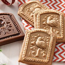 Gingerbread Springerle Shortbread Recipe | King Arthur Flour