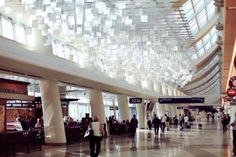 Cloudy With A Chance Of Art: New Sculpture Installation In San Jose Airport