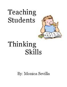 teaching critical thinking skills adults