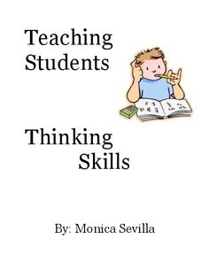 role of critical thinking in curriculum implementation Questioning plays a critical role in cultivating critical thinking skills and deep learning questioning models for students how they should think our professional educators use open-ended questions to encourage discussion and active learning.