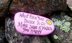 """143 Likes, 2 Comments - The Kindness Rocks Project (@thekindnessrocksproject) on Instagram: """":)#thekindnessrocksproject"""""""