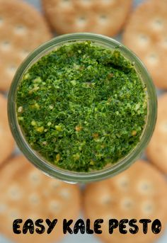 Easy Kale Pesto by B