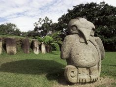 Archaeological Park, San Agustine, Unesco World Heritage Site, Colombia, South America Christopher Columbus Voyages, Colombia South America, Latin America, Colombian Art, Enjoy The Silence, Ancient Civilizations, Culture Travel, World Heritage Sites, Archaeology