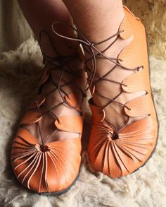 Gladiator sandals made to order unisex one piece by AlltoLeather