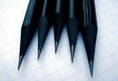 All-black pencils