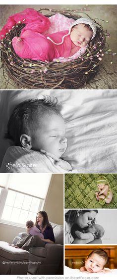 50 More Beautiful Newborn Photos to Inspire You via iHeartFaces.com
