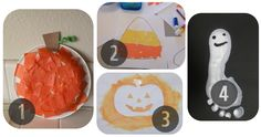 Preschool Halloween Crafts