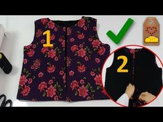 Sewing Hacks, Sewing Projects, Diy Clothes, Dress Patterns, Knitting Patterns, Floral Tops, Youtube, Stitch, Women