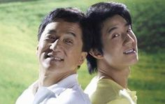 Jackie Chan & son Jaycee