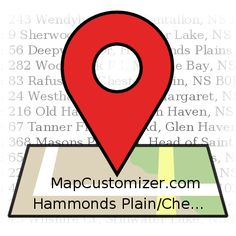 Hammonds+Plain/Chester+|+MapCustomizer.com:+Plot+multiple+locations+on+Google+Maps