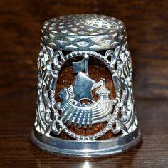 Russian Silver Thimble *Kostroma*