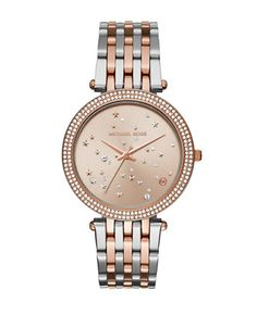 Accessories | Women's Watches  | Darci Two-Tone Stainless Steel Link Bracelet Watch | Hudson's Bay