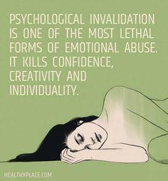 #psychological #invalidation