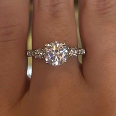 Put on Engagement Ring three times!!!!!