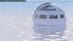 Would You Sleep In This Floating Capsule That Drifts To A Private Island Overnight?