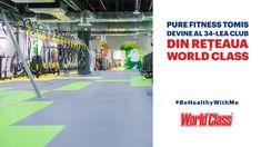 Pure Fitness Tomis devine al 34-lea club din rețeaua World Class România!Tomis Mall – Primul Mall din Constanta Club, Fitness, Mall, Pure Products, Template