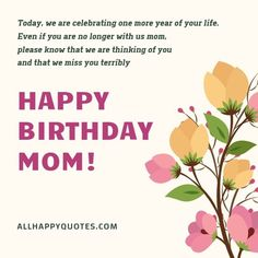 Funny and Sweet Happy Birthday Wishes for Mother and Mother in Law. Beautiful Birthday Wishes for Mom with cards and letters. Birthday Wishes For Mother, Beautiful Birthday Wishes, Happy Birthday Mom, Are You Happy, Birthday Wishes For Mom, Happy Birthday Mama, Happy Birthday Mummy, Birthday Wishes For Mum, Mom Birthday