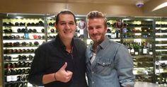 14 de outubro de 2015: David Beckam está em Portugal (DN) Com: David Beckham e Victoria Beckham