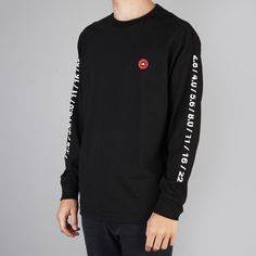 The Quiet Life L/S Shutter T Shirt Black