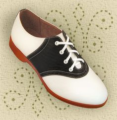 Aris Allen 1950s Women- Swing dancing shoes - later came in a cream and rust color..was used for cheerleading!