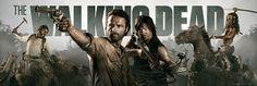 Mega póster The Walking Dead Mega póster con la imagen de cuatro de los protagonistas de la serie de Tv The Walking Dead.