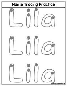 Custom Name Tracing Worksheet - Preview | Create Custom Printables & Worksheets Kindergarten Names, Preschool Names, Name Activities, Preschool Writing, Kindergarten Readiness, Preschool Ideas, Printable Name Tracing, Name Tracing Worksheets, Writing Worksheets