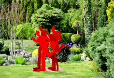 Garden Sculpture by Uri Dushy #gardensculptures #gardenstatues #publicsculptures #uridushy