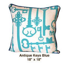 Key Pillow, perfect for your dorm, apartment or chapter house!