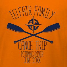 5636e460 Canoe Trip family vacation t-shirt template. Customize for your summer  family canoe trip