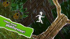 Yet It Moves (puzzle platformer) deNA Co., Ltd. 제작 새로운 재미있는 방식의 게임 종이 캐릭터 모험
