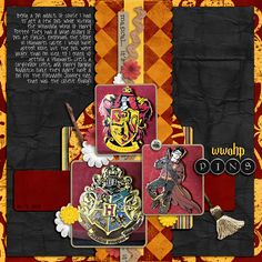 Wizarding World of Harry Potter - Page 2 - MouseScrappers.com