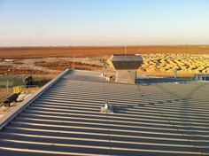Our installation team have just got back from Kazakhstan where they have completed an installation job on a building located on the world's largest oil field!