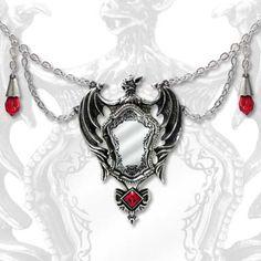 Drakul's Mirror Necklace