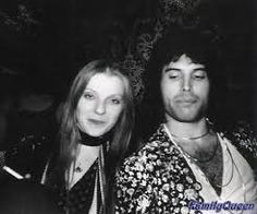 queen by mick rock - freddie mercury with mary austin