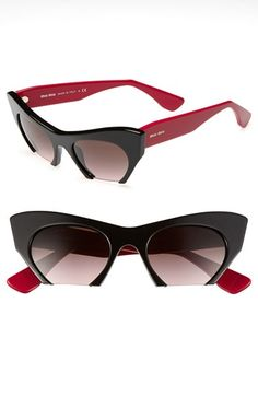 Miu Miu 50mm Cat's Eye Sunglasses | Nordstrom
