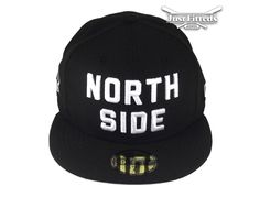 """Toronto Raptors """"North Side"""" 59Fifty Fitted Baseball Cap by NEW ERA x NBA"""