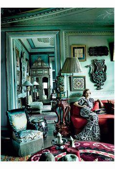 Kate Moss The Silk Road Vogue, December 2013 Mario Testino