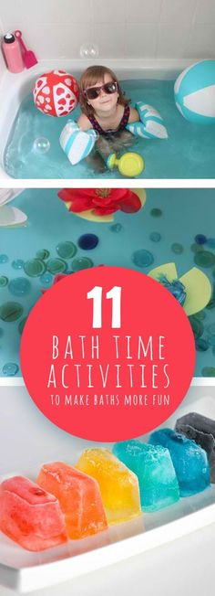 11 Bath Time Activities to Make Baths More Fun: